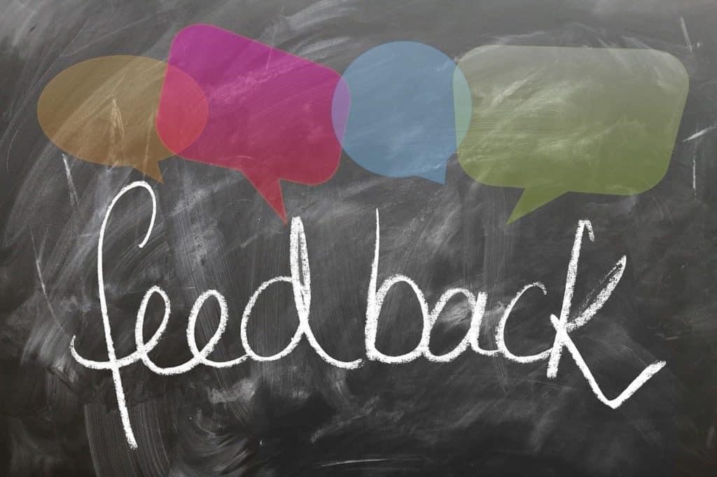 feedback, report back, board-1825508.jpg